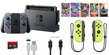 Amazon.com: Consola Nintendo Switch Bundle (11 unidades): 32 ...