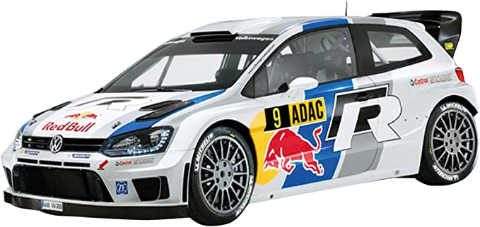 Scalextric C3633 - Escala 1:32 Volkswagen Polo WRC Slot Car ...