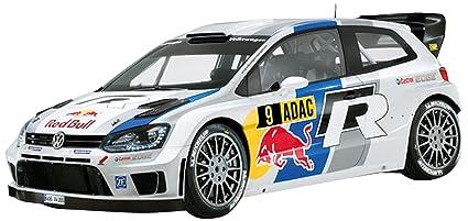 Amazon Com Scalextric C3633 Volkswagen Polo Red Bull 9 Slot Car