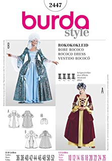 Amazon com: Butterick 4571 - Medieval Dress Pattern: Toys