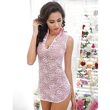 Amazon.com: Sexy Lingerie, mchoice Sexy transparente Encaje ...