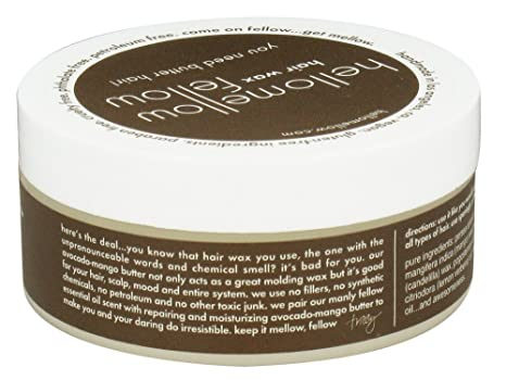 Amazon Com Hellomellow Hair Wax Fellow 2oz Beauty