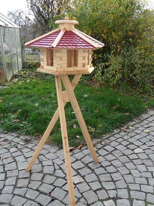 Casa de pájaros pájaro Casas (V48 + S1) de pajarera Comedero de madera de