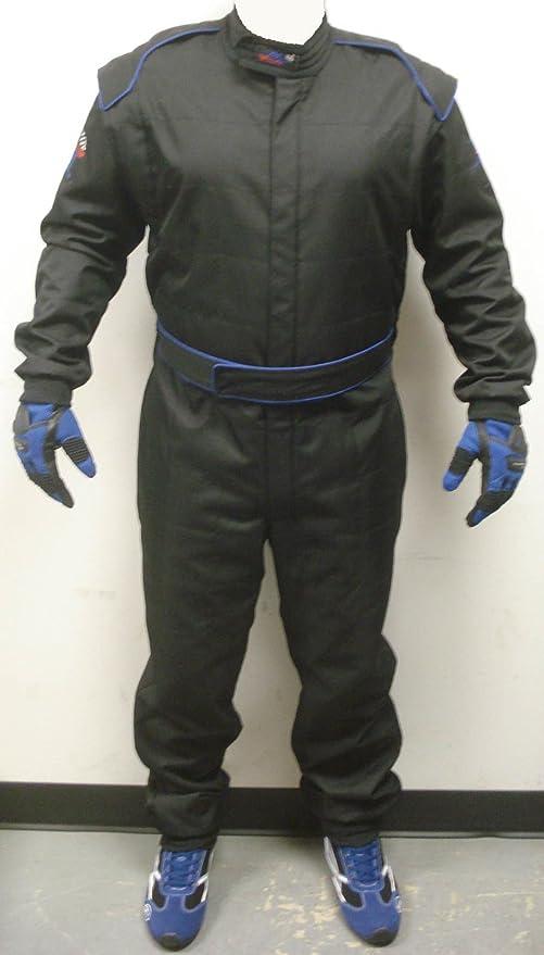 Amazon.com: MM Racing Go Kart Racing Suit Nivel 2 W/Capa ...