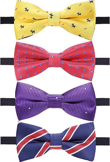 Children Kids Toddler Boy Girls Pre Tied Bow Tie Necktie Wedding Party Decor PR