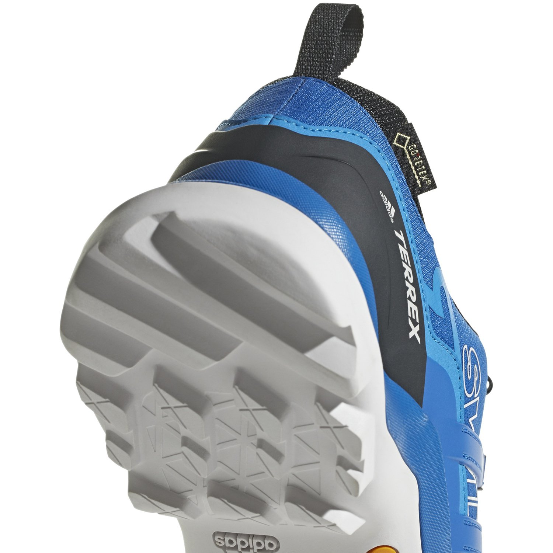 adidas Terrex Swift R2 GTX, Chaussures de Trail Homme, Multicolore (Cblack/Cblack/Brblue Ac7829), 44 EU