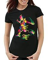 style3 Soccer World Cup T-Shirt Women european championship fan