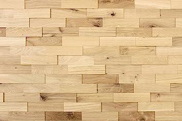Wandverkleidung-Holz 3D Optik I Eiche Rustikal I 1m² nachhaltige ...