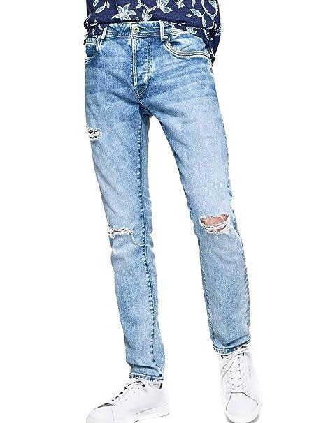 Pepe Jeans Pantalon Vaquero Stanley Hombre: Amazon.es: Ropa ...
