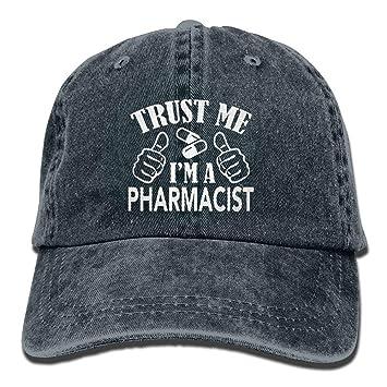 ONGH Confía en mí, Soy farmacéutico Gorras Ajustables de Gorro de ...