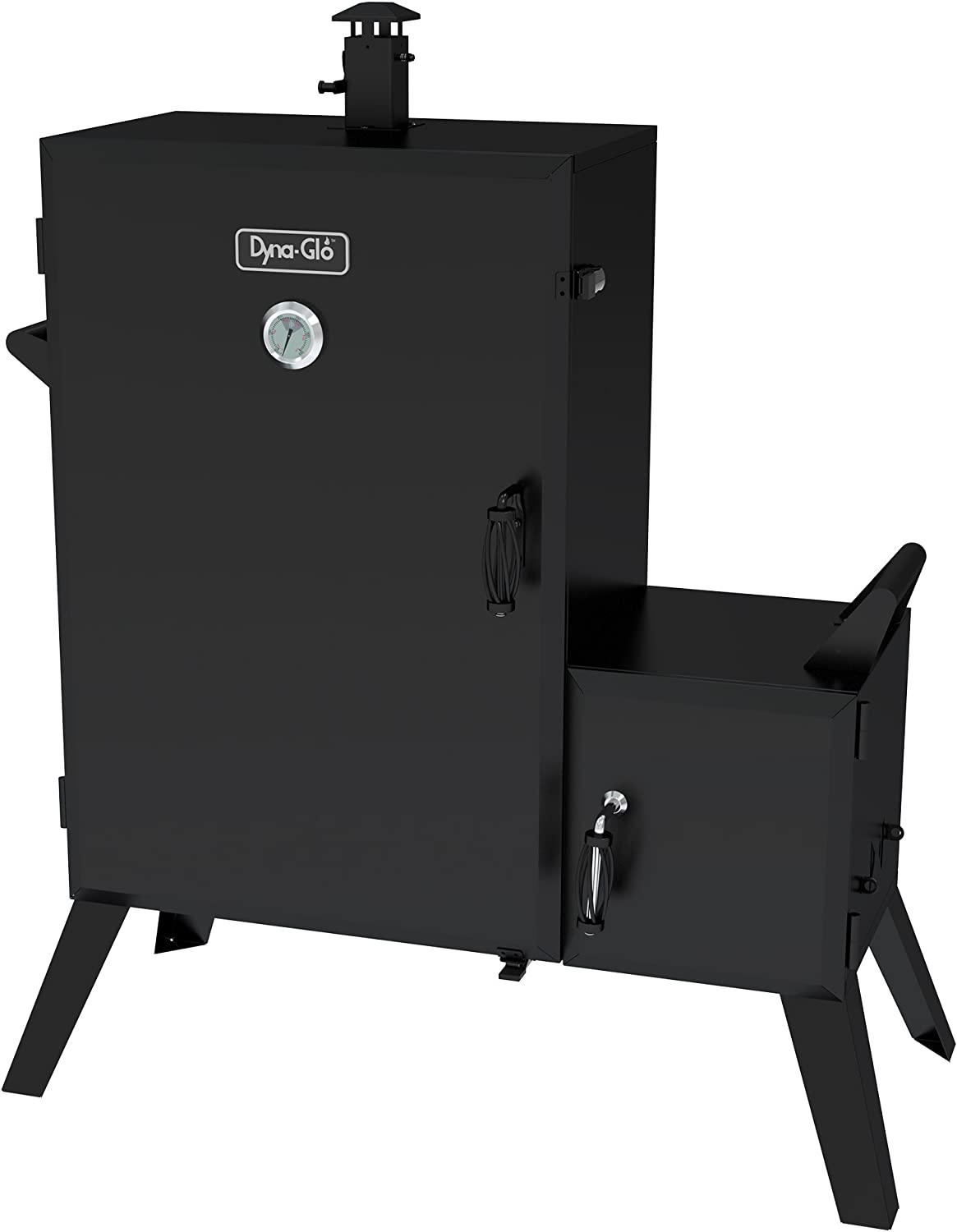 Best Commercial Smoker: Dyna-Glo Wide Body Vertical Offset Charcoal Smoker