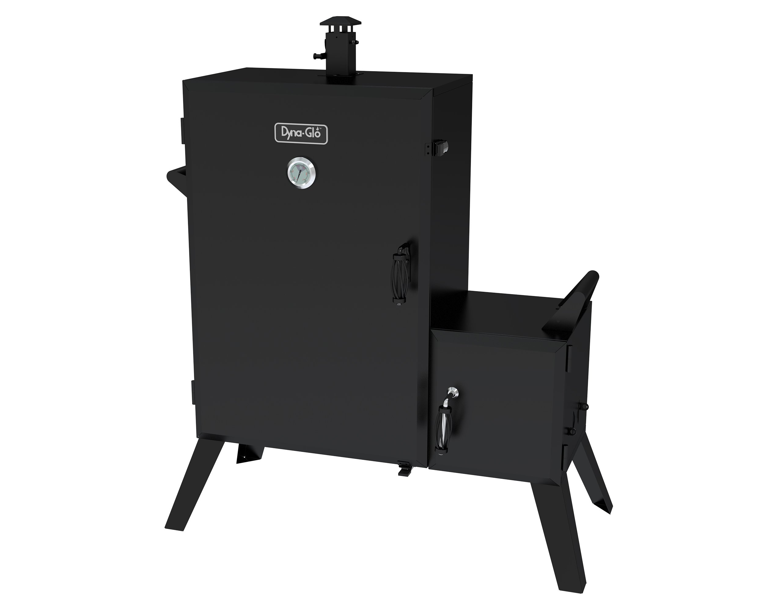 Dyna-Glo DGO1890BDC-D Wide Body Vertical Offset Charcoal Smoker by Dyna-Glo