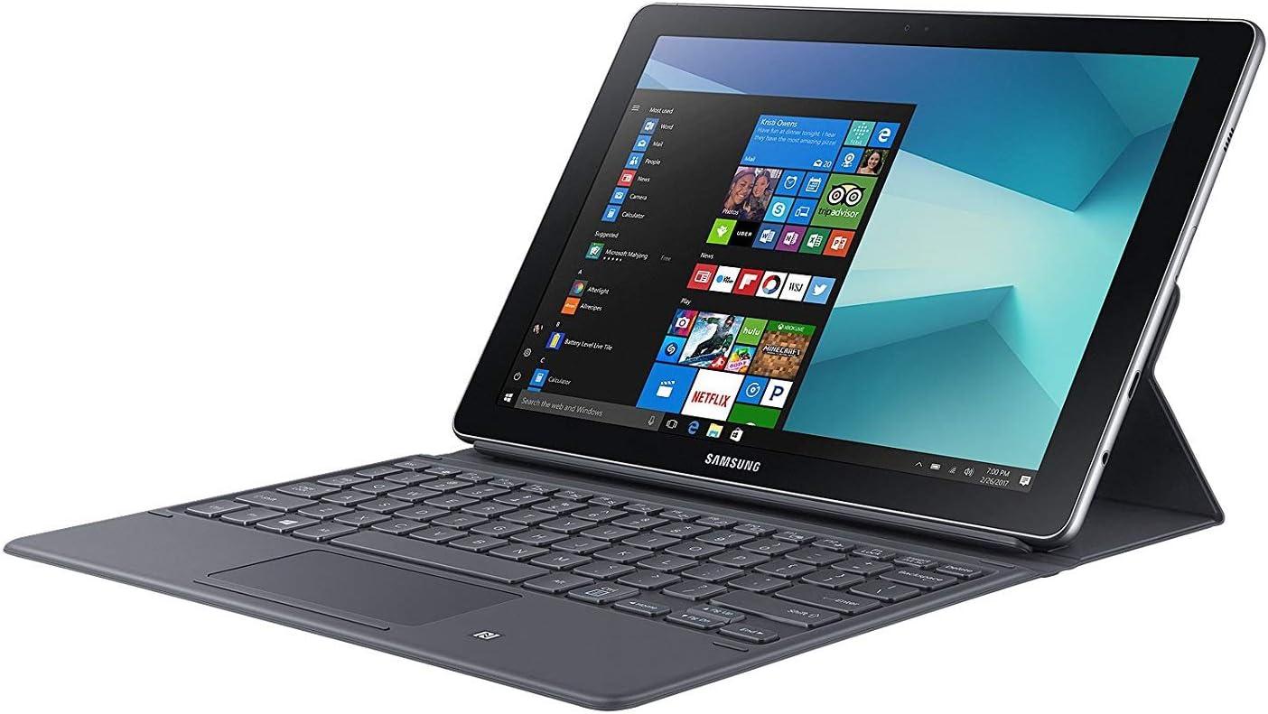 Samsung Galaxy Book Tablet 10.6,Lápiz , Funda Teclado (Mod SM-627-4 RAM, 64 GB, Windows 10 Home, 1 SIM,LTE Cat 6,Core M3, 7 Generación) Modelo Español ,Color Plata
