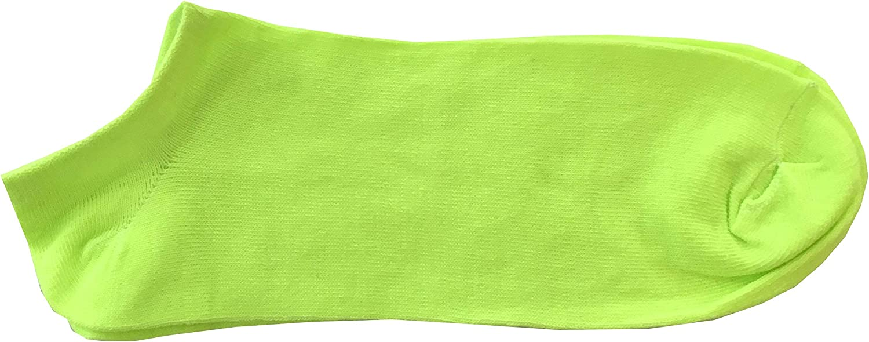 Unica 40-46 Calze Summer Fluo TG 8 Paia Calze Calzini Colori Fluo Uomo Modello fantasmino pariscarpa