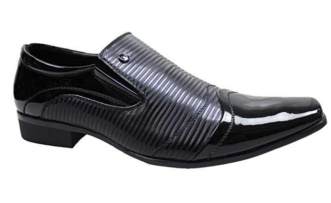 Scarpe eleganti uomo nero man s shoes modello francesine high class  cerimonia ... 2aa01005eb9