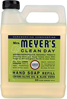product image for Mrs. Meyers Liquid Hand Soap Refill Lemon Verbena 33 Ounces (Pack of 2)