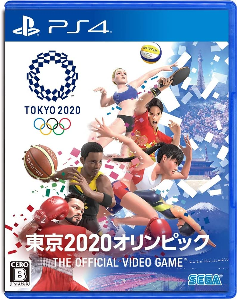 SEGA Olympic Games Tokyo 2020 The Official Video Game PS4 ...