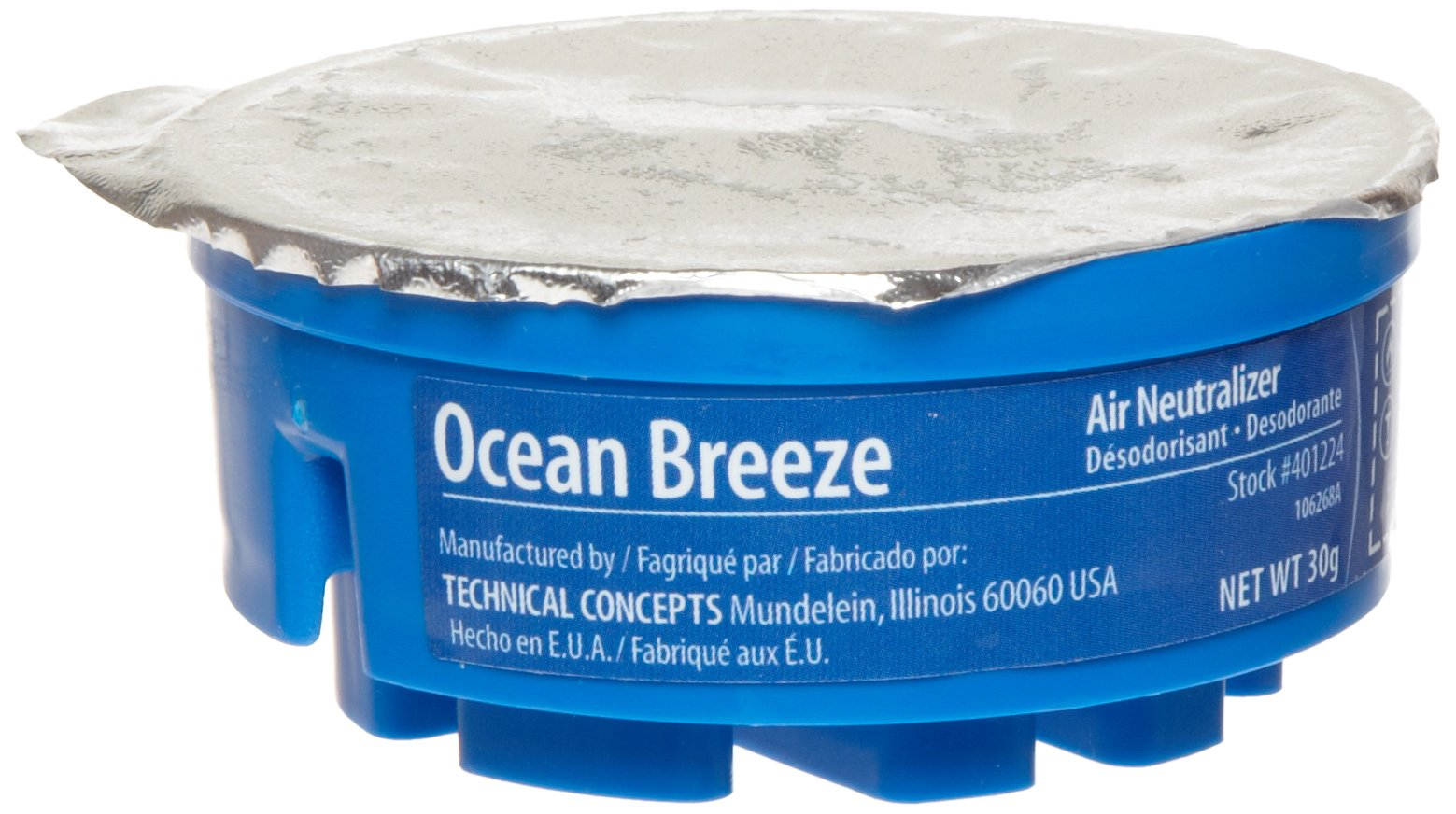 Rubbermaid Commercial FG4012241 Refill for TC Gel Automatic Air Freshener System, Ocean Breeze by Rubbermaid Commercial Products