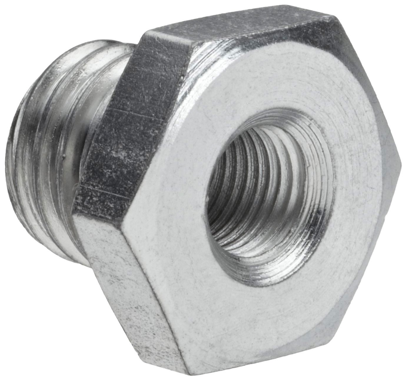 Weiler Mighty-Mite 5/8'-11 Fixed, M10 x 1.25 Adapted Thread Size Adapter For Cup Or Wheel Brush Weiler Corporation 07771
