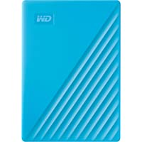 WD 4TB My Passport Taşınabilir Harici Hard Disk, Mavi, BPKJ0040BBL, WESN