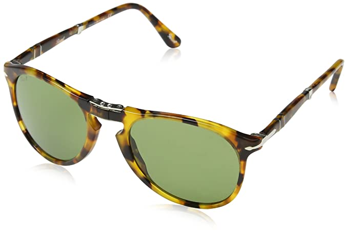 732418cf3c Persol Men s PO9714S Sunglasses Madreterra   Green 52mm at Amazon ...