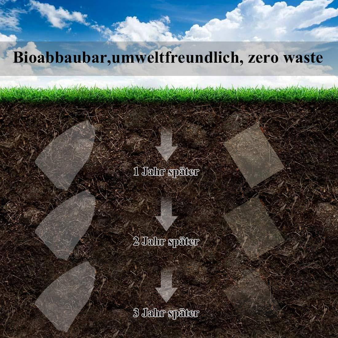 Eco-Friendly Produce Bags Baumwollbeutel Brotbeutel Hand-Made Doppelt gen/äht Waschbar 6er Set Obst-und Gem/üsebeutel aus Bio-Baumwolle Reusable Einkaufsnetz f/ür Lebensmitteleinkauf und Lagerung