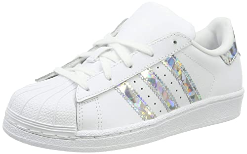 huge selection of 4ac62 7d7e2 adidas Superstar C, Scarpe da Fitness Unisex-Bambini, Bianco (Blanco 000)