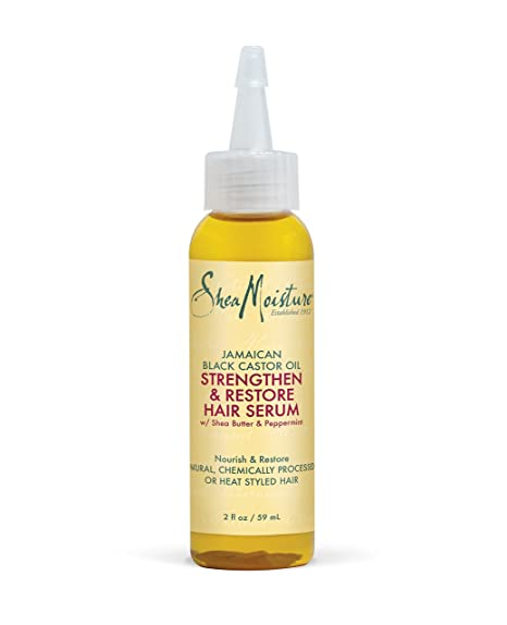 SheaMoisture Jamaican Black Castor Oil - serum para cabello (Unisex, Curly hair, Cabello