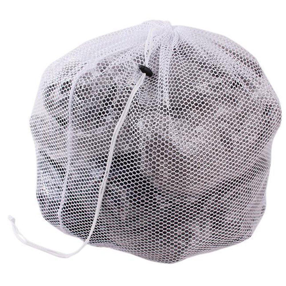Drawstring Washing Bag Laundry Mesh Saver Net Bag for Washing Machine Greenlans