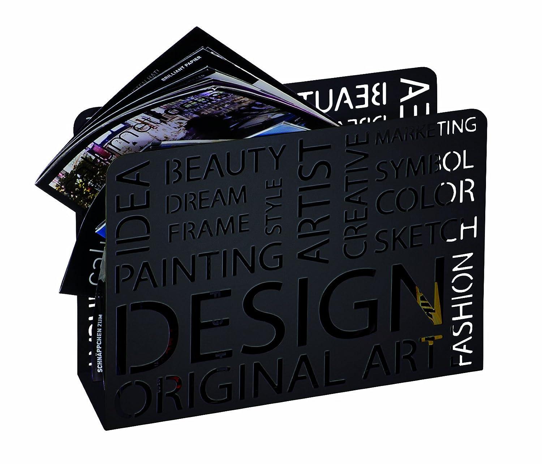 Haku Möbel 44395 Revistero Metal Blanco 10 x 35 x 26 cm