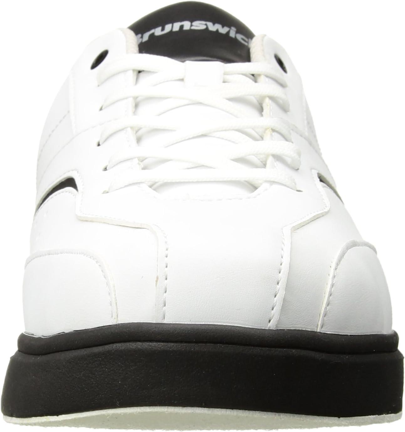 Brunswick Vapor Mens Bowling Shoe White//Black