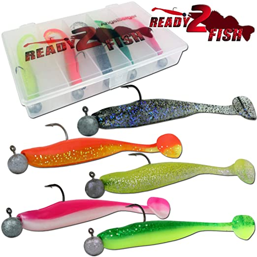 Angel-Berger Wild Devil Baits Action Shad Loaded Ready2Fish Gummifisch