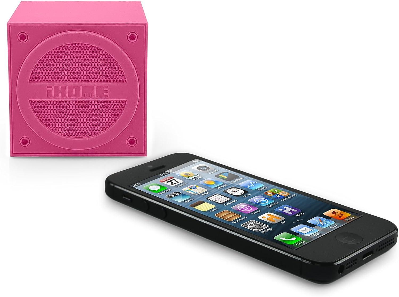 iHome iBT24UE Bluetooth Speaker Lila Lautsprecher kabellos SRS TruBass Musik Box