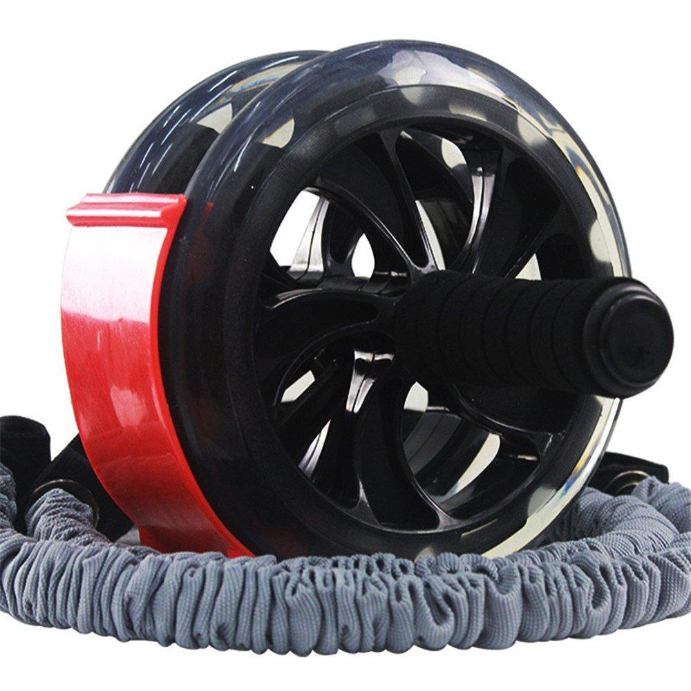 Abdominal- Rad-Rotes Abdominal- Rad-enormer Fitness-Rollen-Stumm-AB Gewichtsverlust-Eignungs-Ausrüstung für Hauptgymnastik