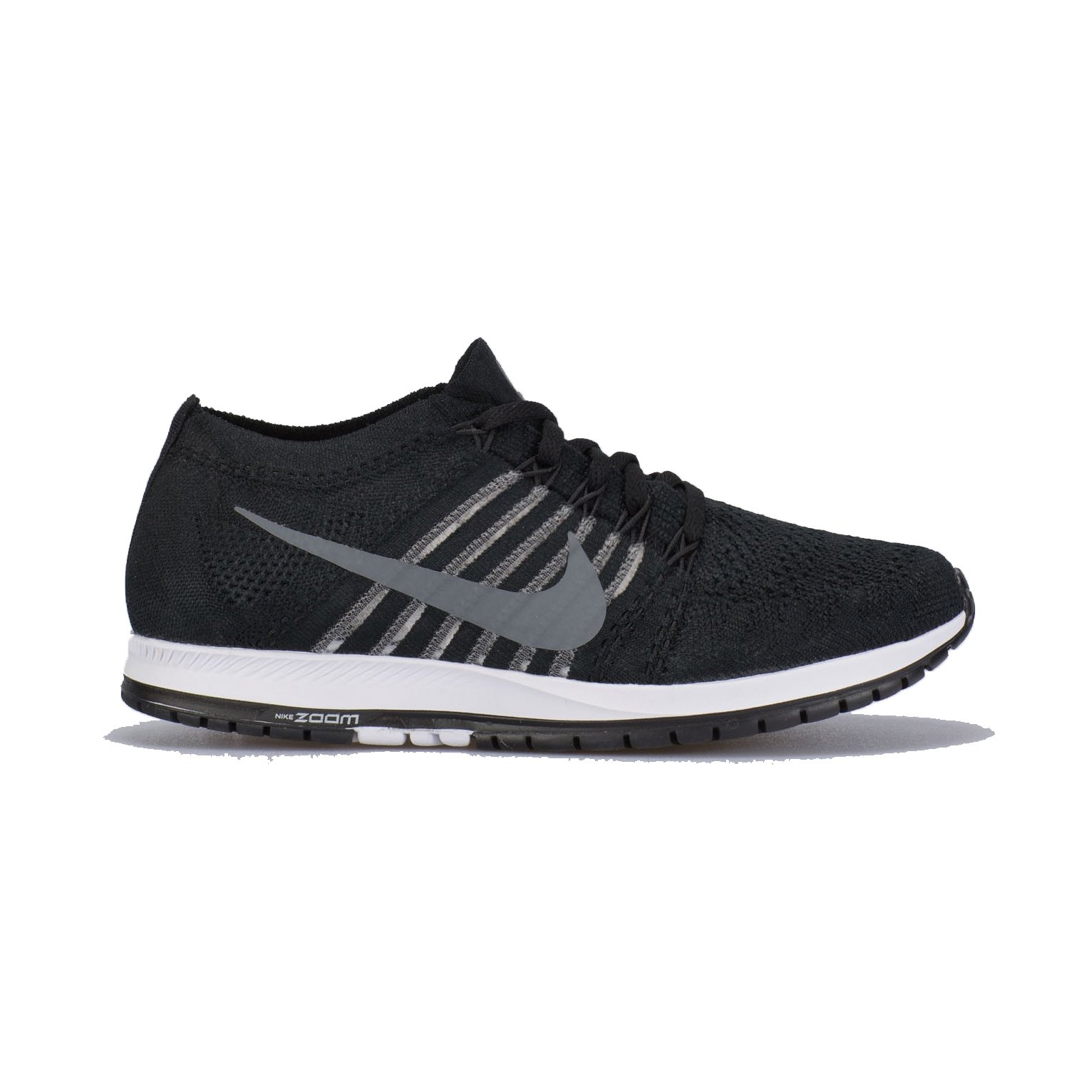 NIKE Flyknit Streak Low Top Running Shoe B0059S4W4S 7 B(M) US|Black