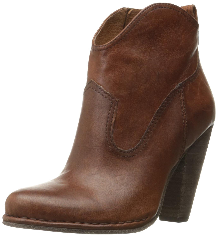 FRYE Women's Madeline Short Boot B01A4SS40A 9.5 B(M) US|Cognac