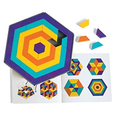 Discovery Toys Mosaic Mysteries Pattern Puzzle | Kid-Powered Learning | STEM Educational Toy Learning & Childhood Development 8 Years and Up: Toys & Games