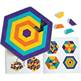 Discovery Toys Mosaic Mysteries Pattern Puzzle | Kid-Powered Learning | STEM Educational Toy Learning & Childhood Development 8 Years and Up