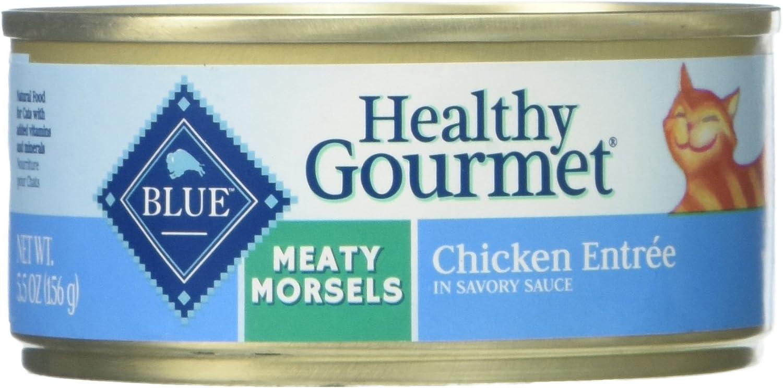 Blue Buffalo Meaty Morsels Cat Food - Chicken - 5.5 Oz