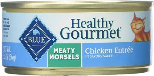 Blue Buffalo Meaty Morsels Cat Food – Chicken – 5.5 Oz