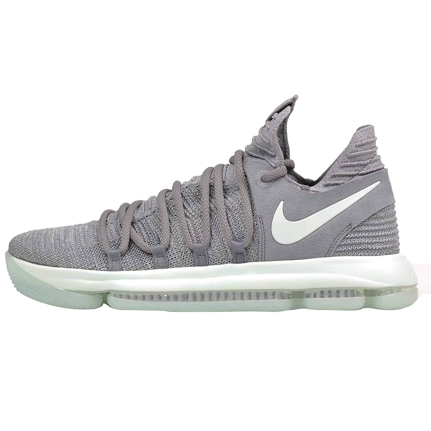 cheap for discount 09030 ae131 Nike Men's Zoom KD10, Cool Grey/Igloo-White: Amazon.co.uk ...