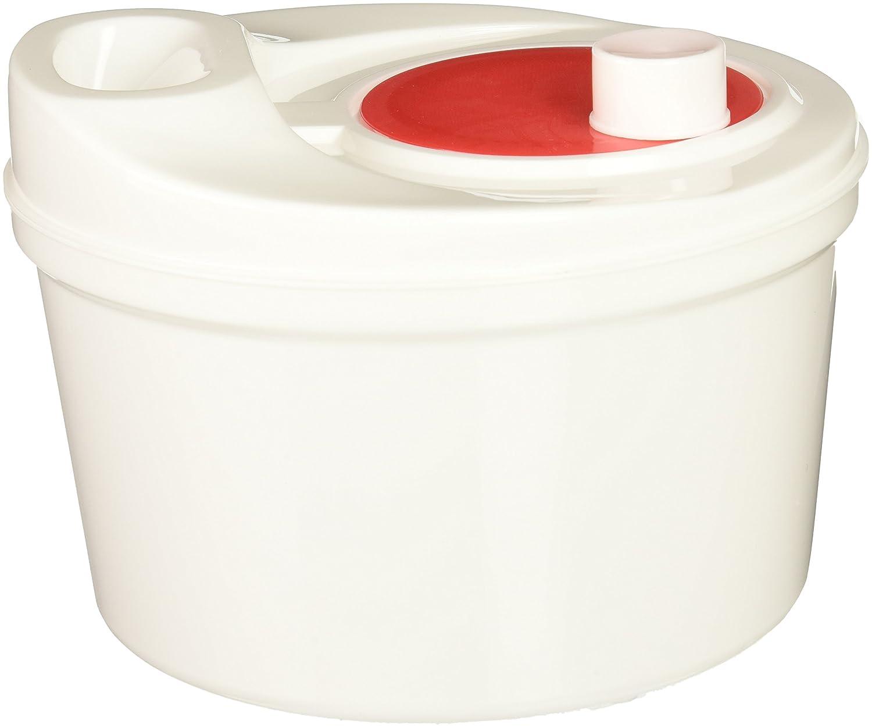 Norpro Self Draining Salad Spinner, White 816