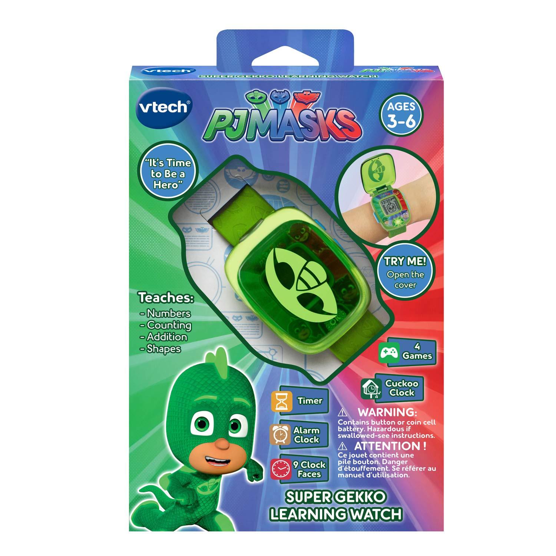 VTech PJ Masks Super Gekko Learning Watch by VTech (Image #5)