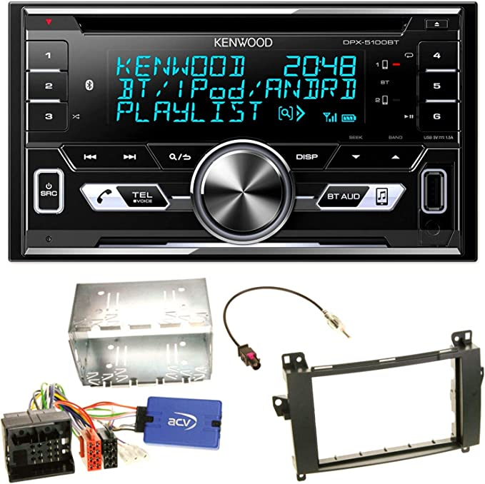 Kenwood Dpx 5100bt Bluetooth Usb Mp3 Autoradio Cd Elektronik
