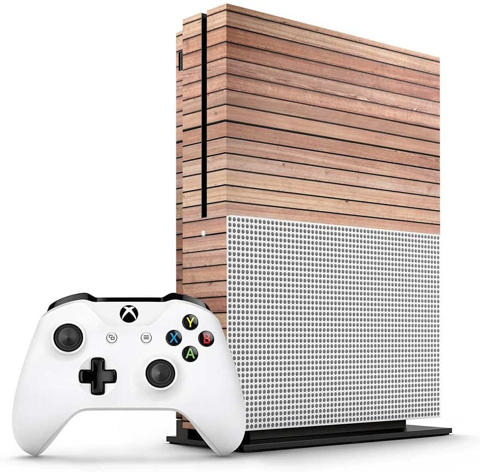 Xbox One S Grass Console Skin Cover// Wrap for Microsoft Xbox One S