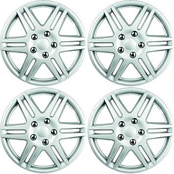 Custom Accessories 96907 (ABS araña fundas para ruedas de pintado, Plata, 4 piezas, 1 Pack: Amazon.es: Coche y moto