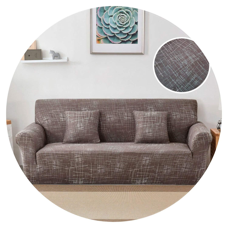 Amazon.com: Small-Shop&Elastic Stretch Universal Sofa Cover ...