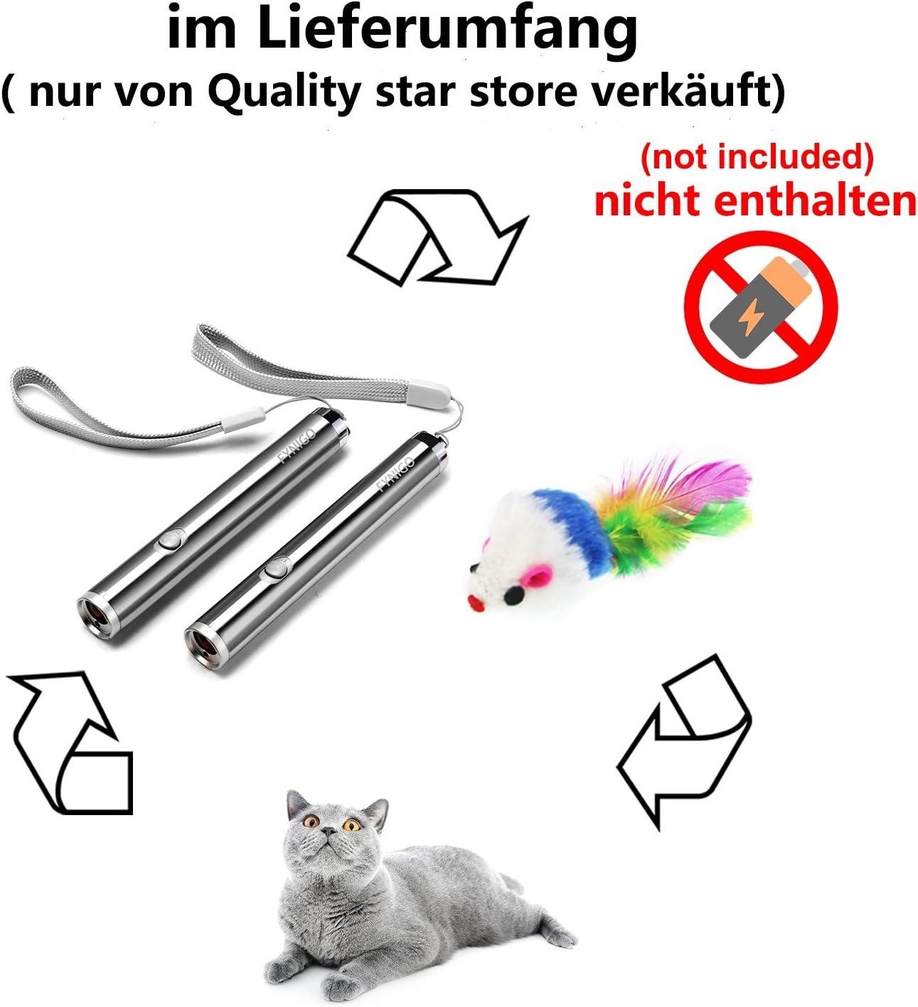 FYNIGO juguetes gatos juguetes interactivos para gatos y perros 2 en 1 Función(2 unidades): Amazon.es: Productos para mascotas