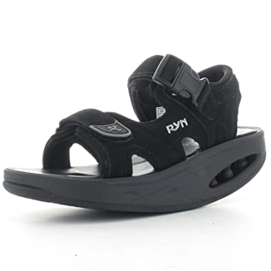 0ce9e5cb1e RYN Sandale Inkan schwarz 39000-00: Amazon.co.uk: Shoes & Bags