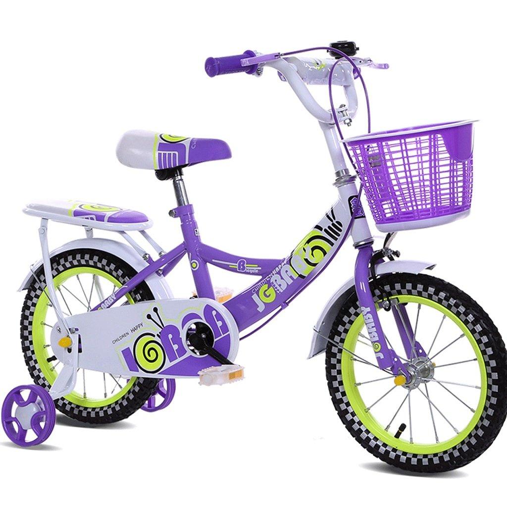 子供の自転車女性12インチ14インチ16インチの男の子の赤ちゃんの自転車3-10歳の子供の自転車 (色 : パープル ぱ゜ぷる, サイズ さいず : 12インチ) B07D9J24YM 12インチ|パープル ぱ゜ぷる パープル ぱ゜ぷる 12インチ